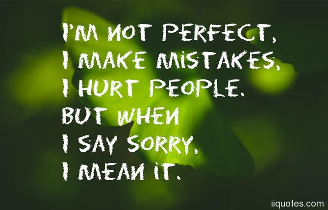 Apology Quotes Extraordinary A Collection Of Best 48 Quotes About Apologizing For Hurting Someone