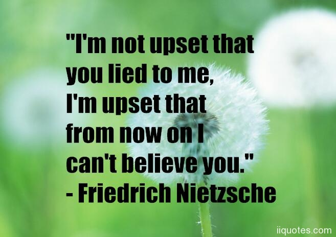 A collection of best 50 lies and lying quotes for